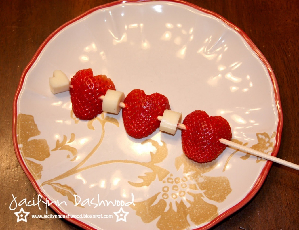 picture - Healthy Valentines Snacks